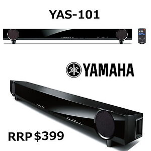 Brand New Yamaha YAS-101 Surround Sound Bar Subwoofer 7.1 Channel YAS101