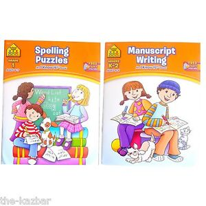 School-Zone-learning-activity-books-set-kindergarten-year-2-4-8-year-olds