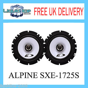 Alpine-SXE-1725S-6-5-17cm-2-Way-220w-Coaxial-Speakers