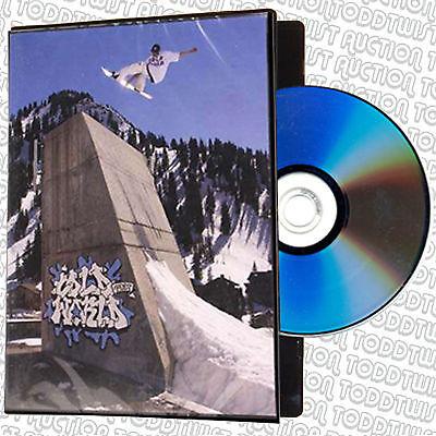 COLD WORLD  -  Snowboard Film / Snowboarding DVD - SALE PRICE