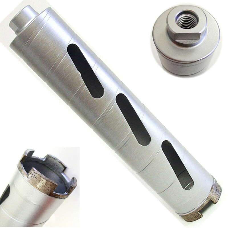 "2"" Dry Diamond Core Drill Bit for Hard Concrete Masonry 5/8""-11 Threads"