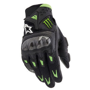 Alpinestars Monster Energy M10 Air Carbon Street Riding Gloves