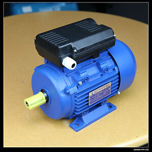 Electric-motor-single-phase-240v-1-5kw-2HP-2800pm-shaft-size-24mm