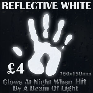 White-Reflective-Vinyl-Sticker-Glows-At-Night-When-Hit-By-a-Beam-of-Light