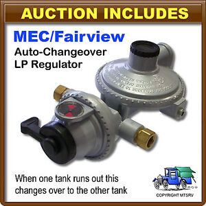 MEC 2-Stage LP Propane Gas Auto Changeover Regulator - Marshall RV Replacement
