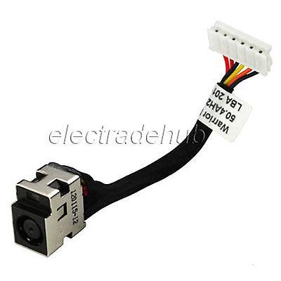 Hp Compaq Cq50 Cq60 G50 G60 Laptop Charging Port Ac Dc Power Jack Cable Cj44