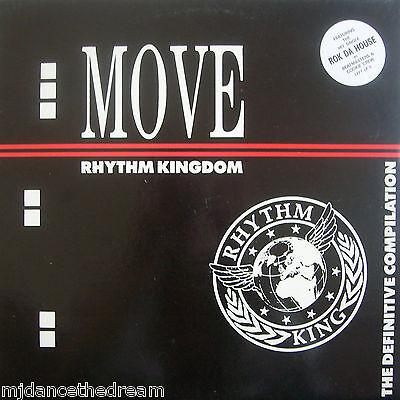 MOVE - RHYTHM KINGDOM - Various Artists ~ VINYL LP