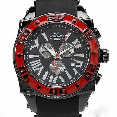 """""""AquaSwiss"""" Mens CHRONOGRAPH DAY & Friend WATCH - Expensive For a Reason !"""