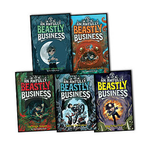 The-Beastly-Boys-An-Awfully-Beastly-Business-5-Books-Collection-Set-Mixed