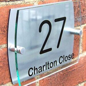 Door number plaques b&q