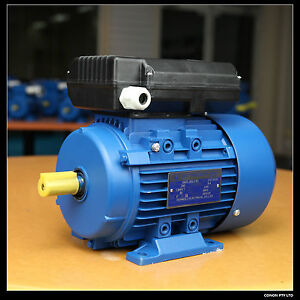 Air-compressor-motor-single-phase-240v-1-5HP-2800rpm-shaft-19mm