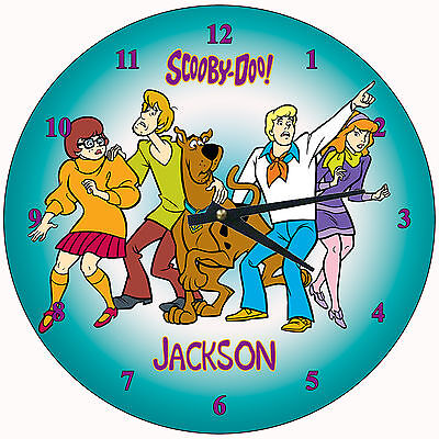 Personalized Scooby Doo Wall Clock 2
