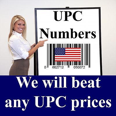 1000 Upc Numbers Upc Barcodes Upc Bar Code Upc Number Labels For Amazon Us Uk Eu