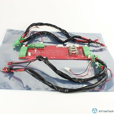 Ge Healthcare 5350009 Rev 3 Cricket Battery Board With Battery Cables