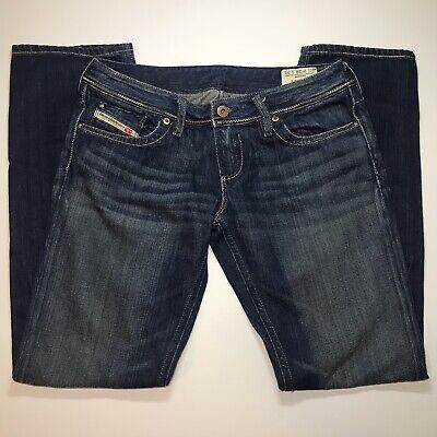 DIESEL INDUSTRY Lowky B.C. Boot Cut Low-Rise Blue Jeans Women's Size 28x30 (Diesel Low Rise Jeans)