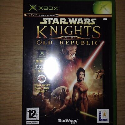 Star Wars Knights of The Old Republic for Xbox Original PAL Black Label