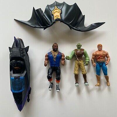 Lot de figurines vintage 80, 90, 2000: Batman, Mister T, ...