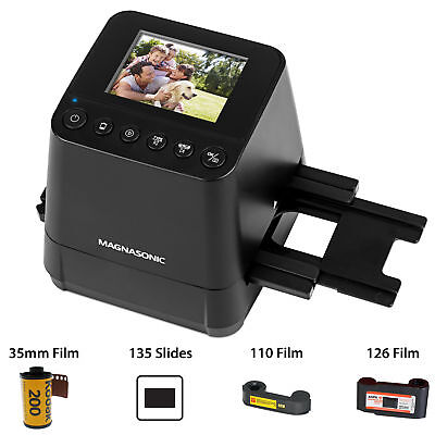 Magnasonic Slide & Film Scanner Converts Negatives & Slides into Digital Photos