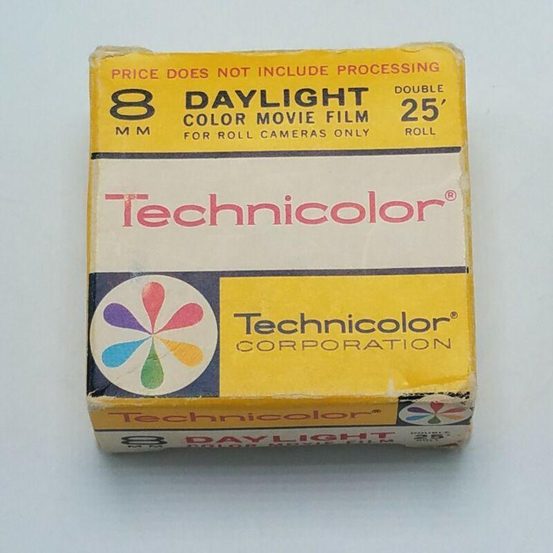 Vintage Technicolor Roll Cameras Daylight Color Movie Film Exp April 1970