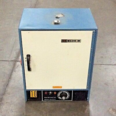 Blue M Sw-11ta Single Wall Transite Gravity Convection Oven Laboratory Samples