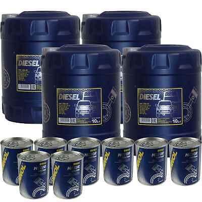40L MANNOL aceite motor de SAE 15W-40 Diesel Incl. Doctor Aditivo