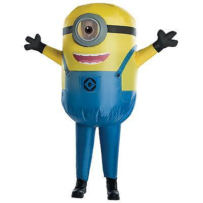 Despicable Me - Minion Stuart Inflatable Child Costume (Male Minion Costume)