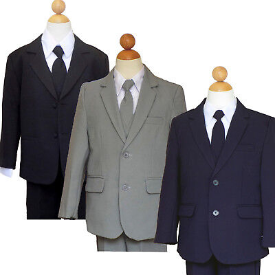 BOYS RECITAL, RING BEARER, GRADUATION SUIT SET, SIZE: 2T to 16 (Ring Bearer Suit)
