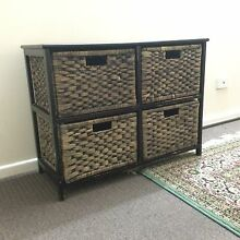 Cane style drawers/cabinet Townsville Townsville City Preview