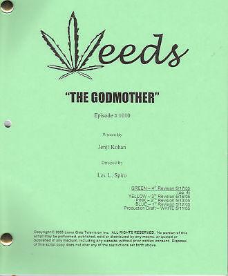 "WEEDS genuine show script ""The Godmother"""