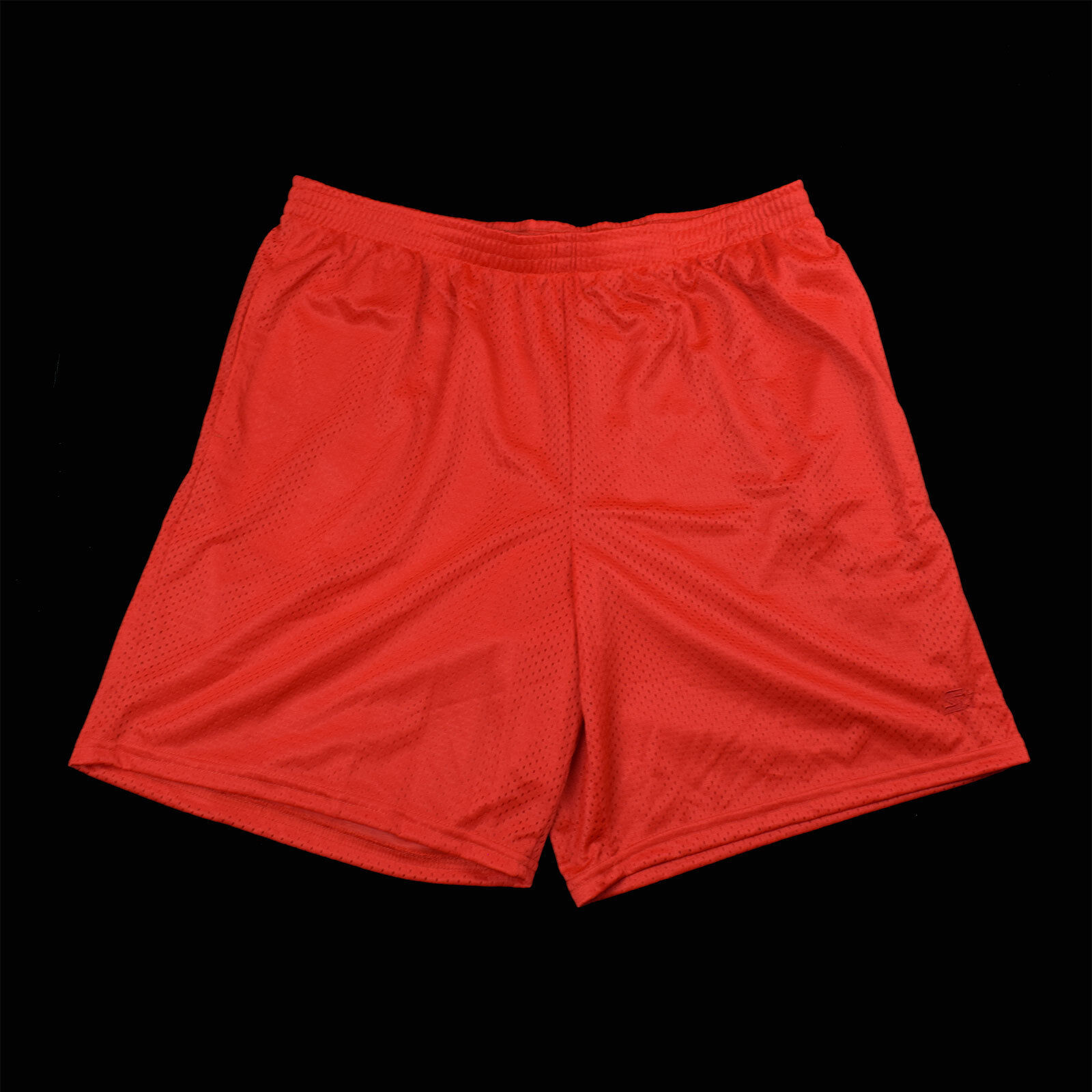 Starter Men's Athletic Shorts In Red Black & White