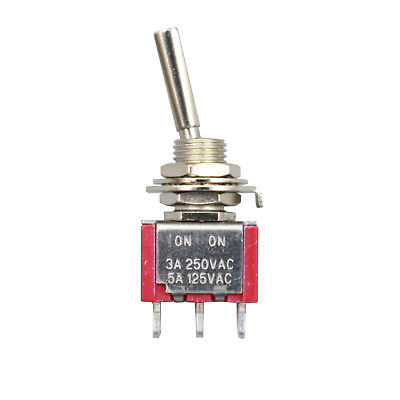 Sh Flat Handle T8013-uhbq On-on Maintained 3pin Spdt Mini Toggle Switch