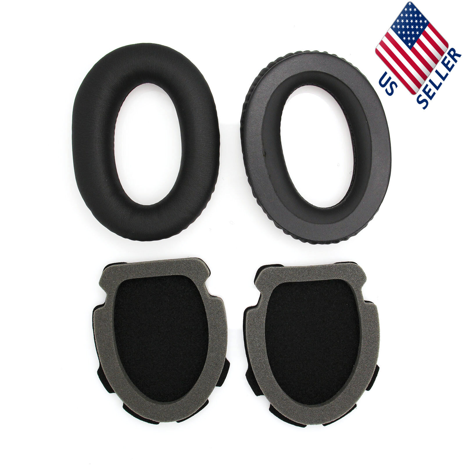 Replacement Ear Pads Cushions for Bose Aviation Headset X A10  A20 Headphones