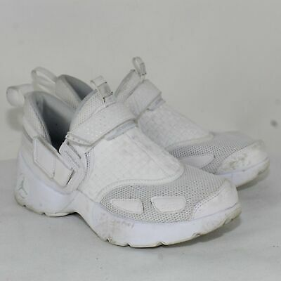 Air Jordan Trunner LX BG 897996 100 Triple White Big Kids SZ 7Y