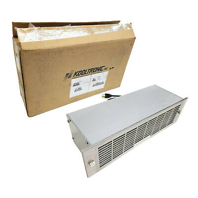 New Kooltronic Kp529a Rack Mount Twin Packaged Blower Air Cooler