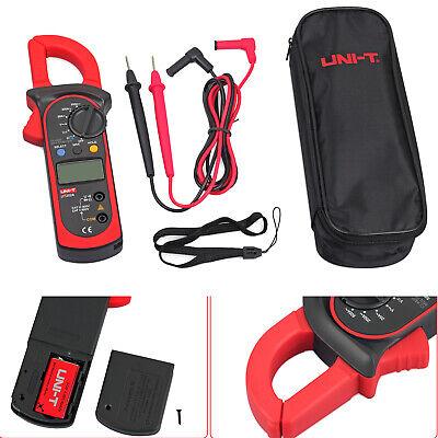 Uni-t Clamp Meter Ac Dc Volt Ac Amp Ohm Tester Lcd Digital Multimeter Handheld