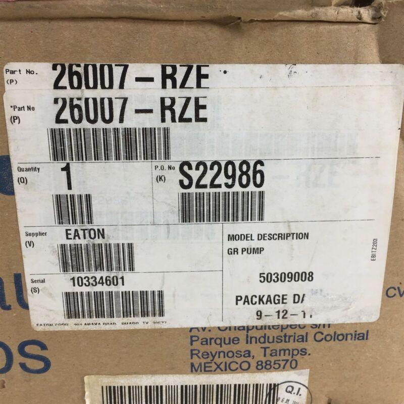 Eaton 26007-RZE Gear Pump H110906DB