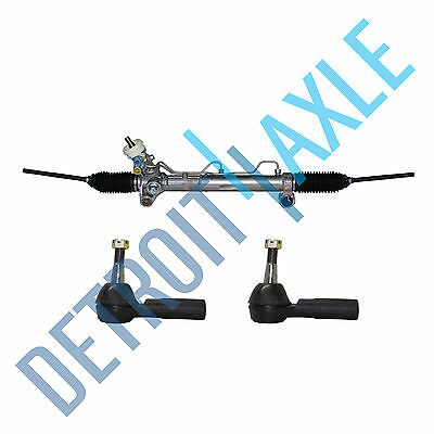 Power Steering Rack and Pinion + 2 OUTER TIE RODS for Buick LeSabre Pontiac