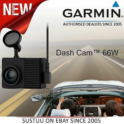 Garmin Dash Cam 66W¦2' HDR Camera¦1440p Recording¦Voice Control¦Bluetooth¦Wi-Fi