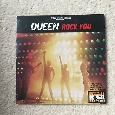 Queen Rock You  The Mail on Sunday Promo CD   segunda mano  Embacar hacia Spain