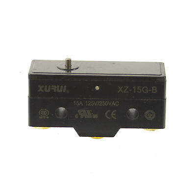 1 X Xz-15g-b Nonc Miniature Micro Switch Spdt Pin Plunger Type 15a 125250vac