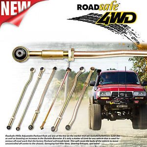 Front Adjustable HD Panhard Rod Jeep Cherokee XJ Grand Cherokee ZJ Wrangle TJ