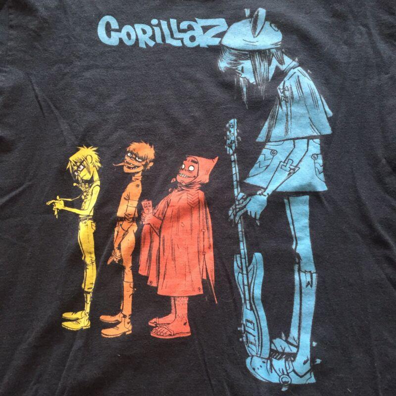 Classic Gorillaz Short Sleeve T-shirt Mens Large Alternative Rock