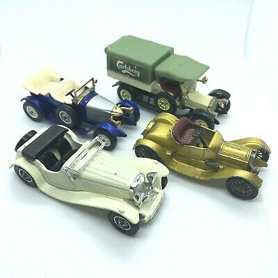 VINTAGE 1970's MATCHBOX LESNEY MODELS OF YESTERYEAR LOT OF 4 Clean