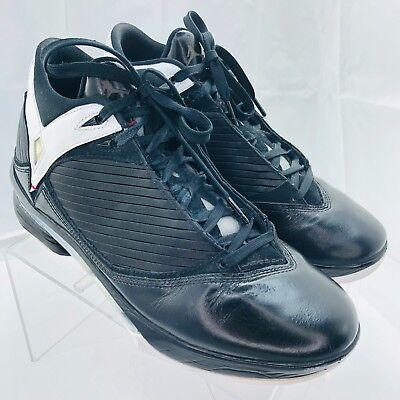 26cfea2ce83060 NIKE Air Jordan Basketball Shoes 2008 Men Size 10 Black - White 343084-062