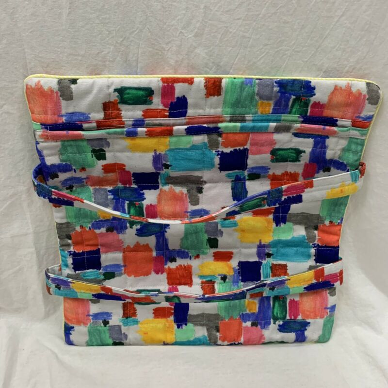 Anthropologie Felicity Take and Bake Casserole Carrier Multicolor Tote NEW