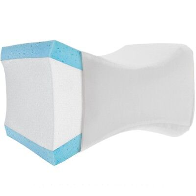 Knee Wedge Pillow W  Washable Cover   Therapeutic Support Cushion For Knee Pain