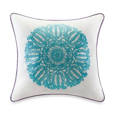 Echo Design Calypso 18-Inch Square Toss Pillow cover (Pillow not included)