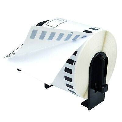 1 Roll Dk2205 Continuous Labels With 1 Reusable Cartridge For Brother Ql Printer