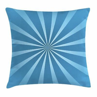 Vintage Blue Throw Pillow Cases Cushion Covers by Ambesonne