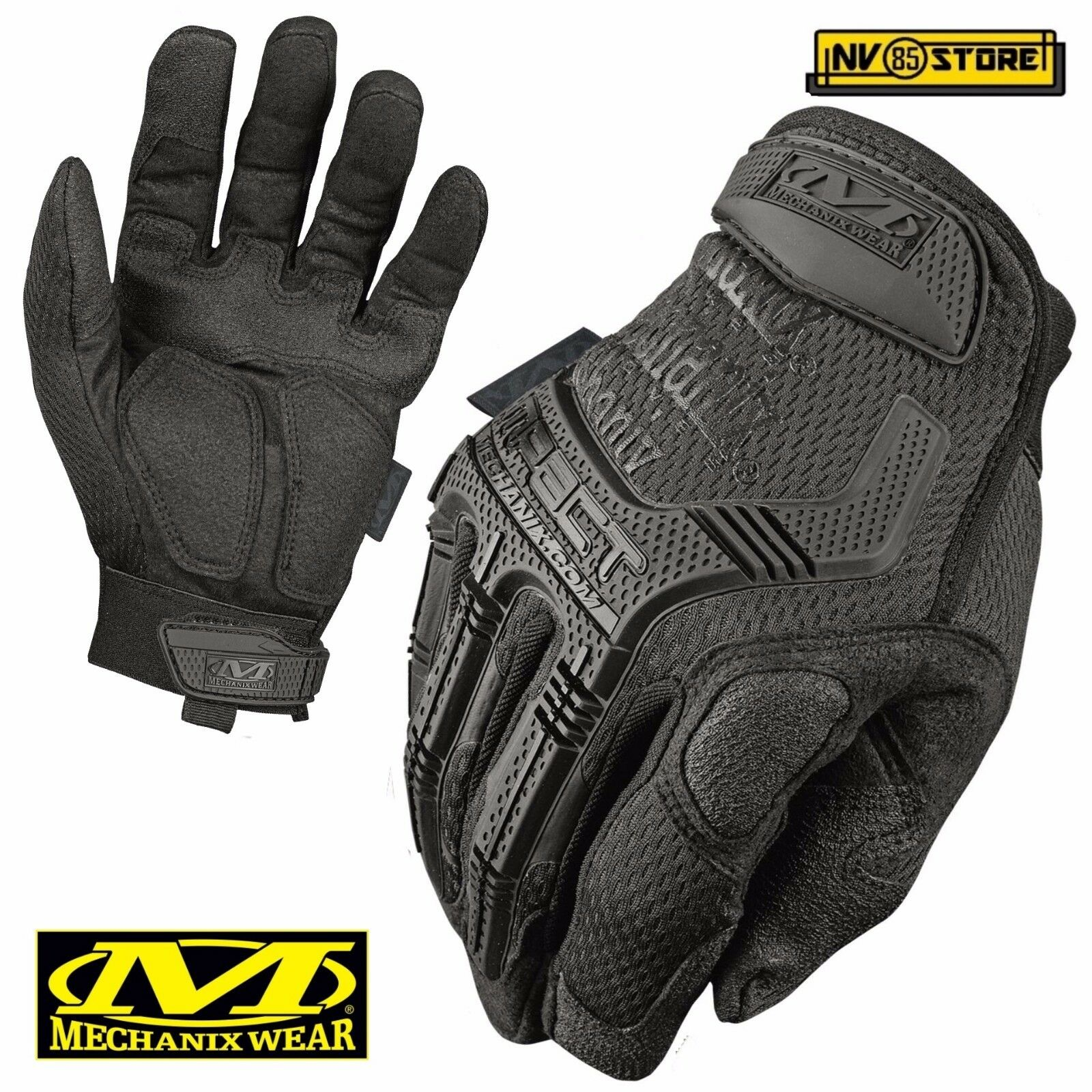 Guanti MECHANIX M-PACT Tactical Gloves MPT55 Softair Security Antiscivolo Caccia